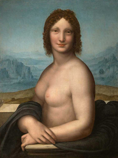 an earlier mona lisa?