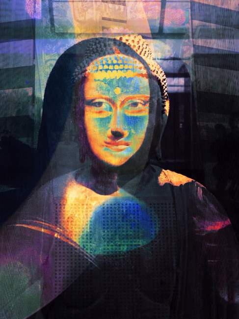 One of Barabeke's versions of Mona Lisa