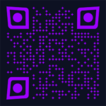 Barabeke's artist signature - magical mystery qr code